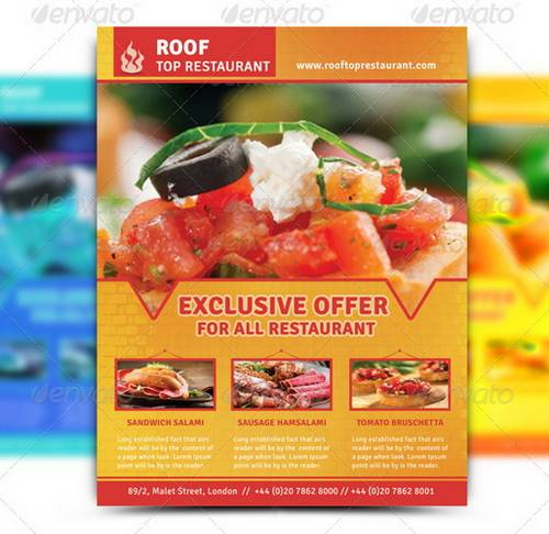 100 Awesome Flier Or Flyer Templates - Xdesigns