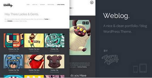 Creative's Portfolio & Blog Theme