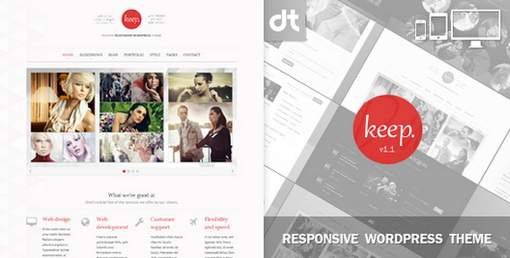 Duotive Portfolio WordPress Theme