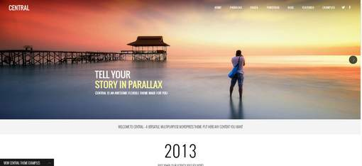 Central Multi-Purpose WordPress Theme