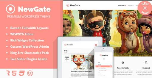 NewGate - Agency / Business WordPress Theme