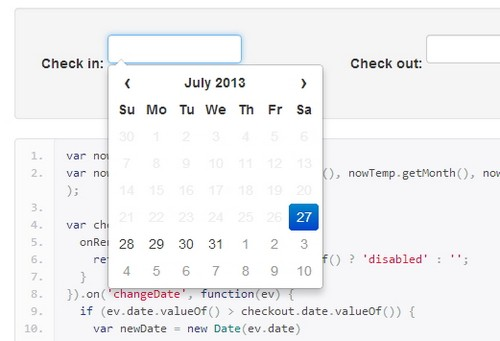 12 Powerful Jquery Calendar And Datepicker Plugins Xdesigns