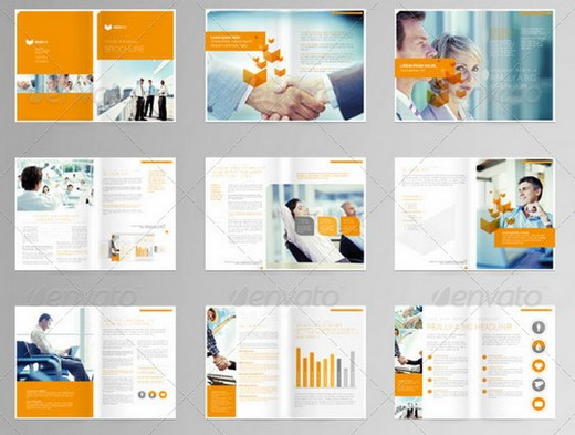 Awesome Corporate Brochure Templates XDesigns - Brochure template ideas