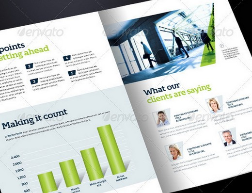 Awesome Corporate Brochure Templates XDesigns - 8 page brochure template