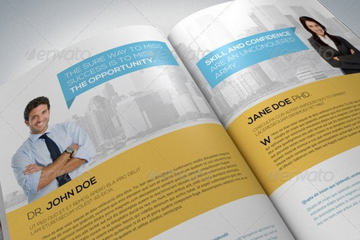 20 Awesome Corporate Brochure Templates XDesigns – Corporate Report Template
