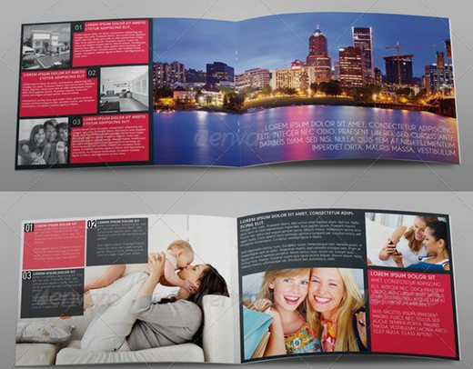 Awesome Corporate Brochure Templates XDesigns - A5 brochure template