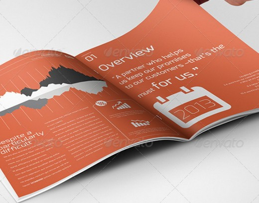 Awesome Corporate Brochure Templates XDesigns - 4 page brochure template