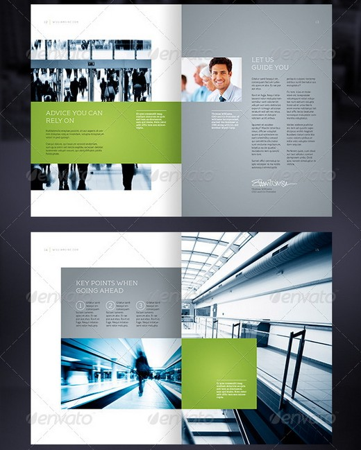 20  awesome corporate brochure templates