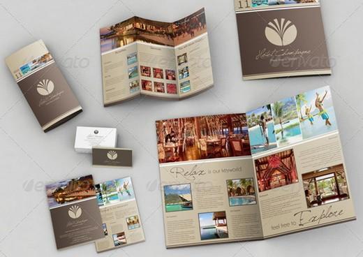 20 awesome corporate brochure templates xdesigns 3 a3 a4 trifold brochure business card bonus colourmoves