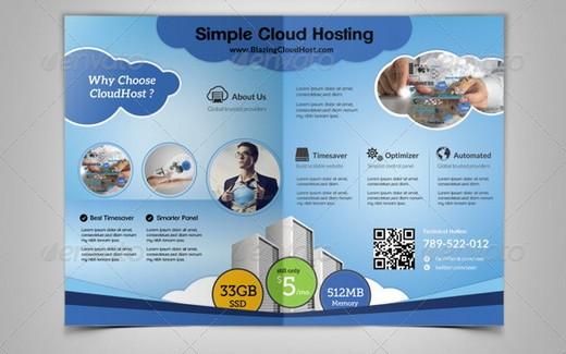 A3 Tri Fold Business Services Borchure Template