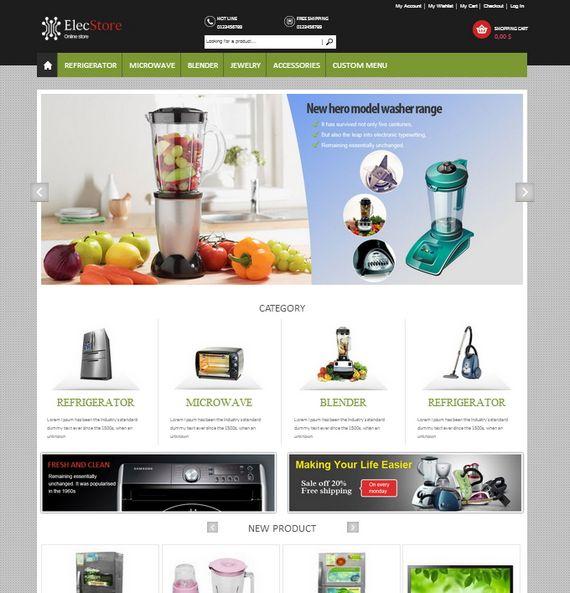 65 best magento templates xdesigns elec store responsive magento template live maxwellsz