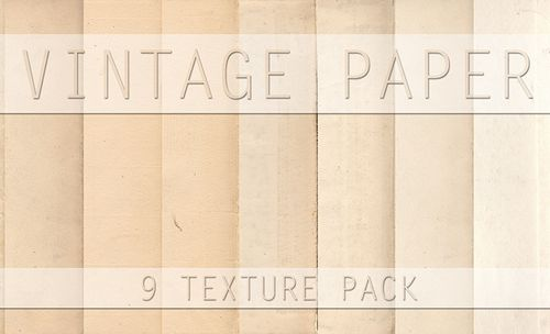 Vintage Paper Texture Pack By S3PTIC STOCK