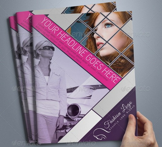 20 Awesome Corporate Brochure Templates XDesigns – Fashion Design Brochure Template