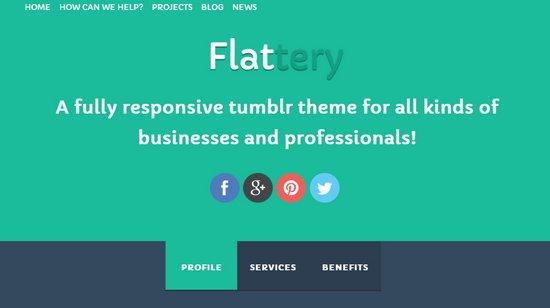 Flattery Tumblr Business Theme