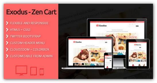 25 Free and Premium Zen Cart Templates - XDesigns