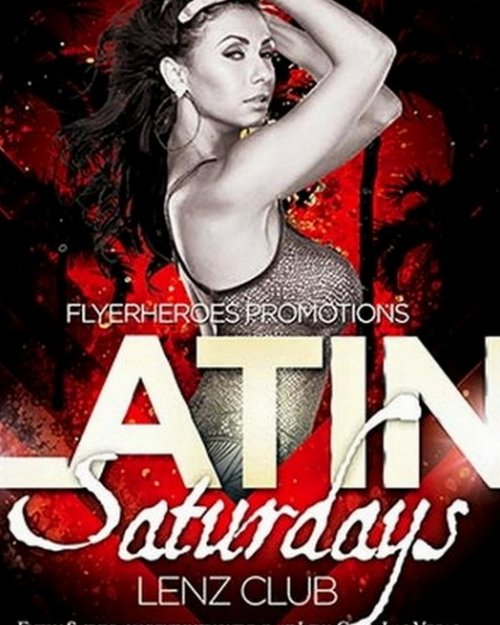 Latin Nightclub Flyer Template