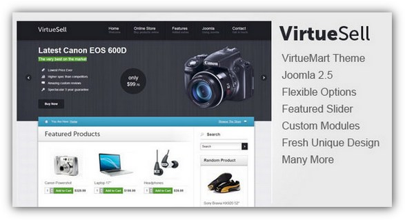 15 Best Virtuemart Template Design - XDesigns