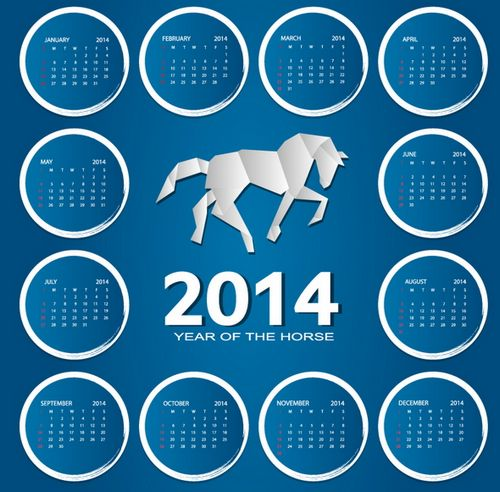 2014: Years of the horse