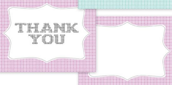 Simple Thank You Card Template Simple thank you cards  and Wm8vxLB4