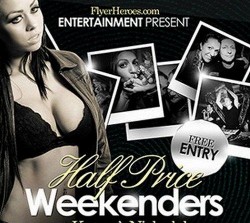 Free Half Price Weekenders Club