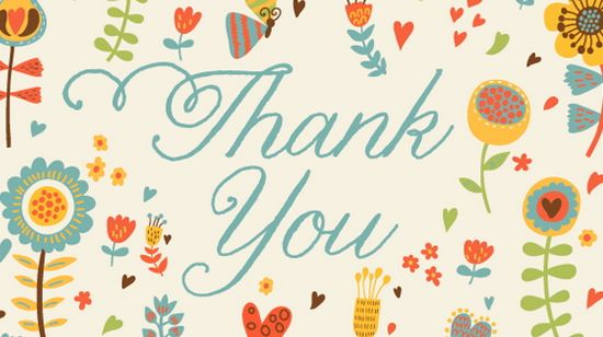 Beautiful Printable Thank You Card Templates  Xdesigns
