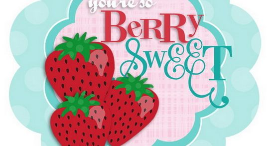 Printable Berry Cherry Cards