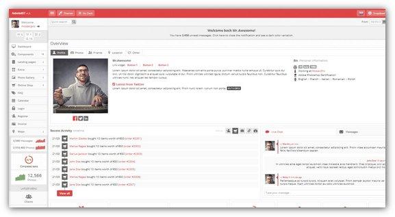 AdminKIT Premium Admin Template