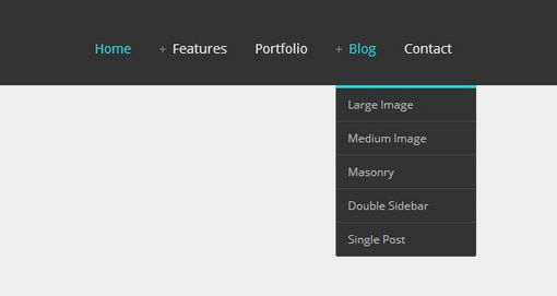 Responsive Drop Down Menu jQuery CSS3 Using Icon Symbol