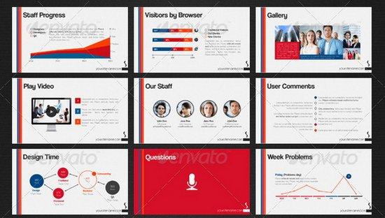 50+ free and premium keynote presentation templates - xdesigns, Presentation templates