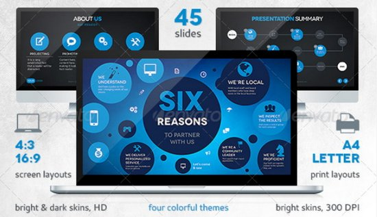 50  free and premium keynote presentation templates
