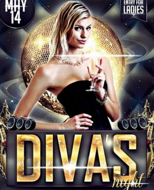 Diva Flyer Template