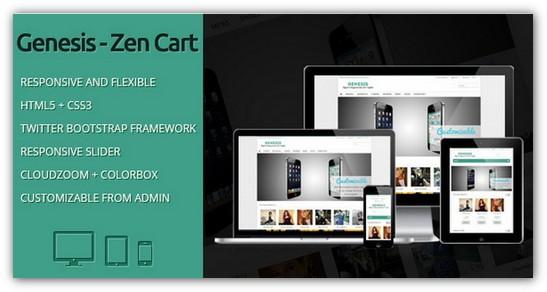25 Free And Premium Zen Cart Templates