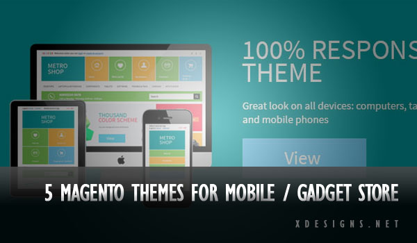 Magento Mobile and Gadget Themes