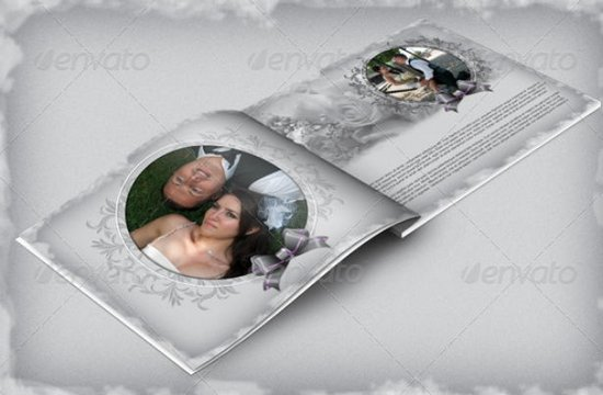 8 Beautiful Wedding Photo Album Templates XDesigns – Template for Photo Album