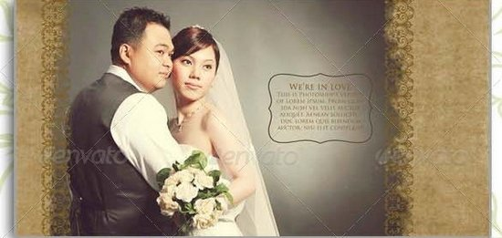 8 Beautiful Wedding Photo Album Templates XDesigns