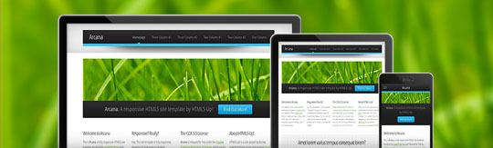 Download Free Arcana HTML5 Website Template