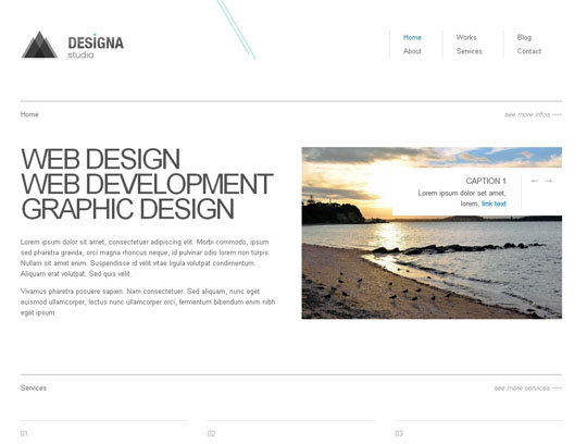 Download Free Designa HTML5 Website Template