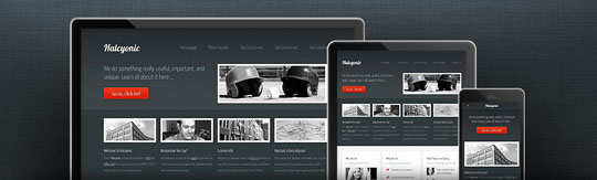 Download Free Halcyonic HTML5 Website Template