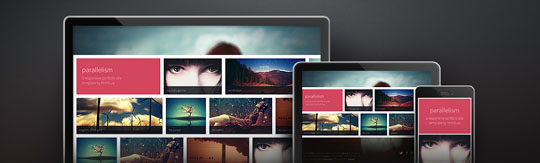Download Free Parallelism HTML5 Website Template