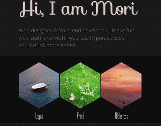 Download Free Mori Dark HTML5 Website Template