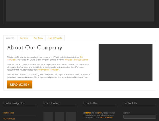 Download Free RS-1200 PTT 22 HTML5 Website Template