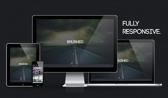 Download Free Brushed HTML5 Website Template