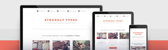 Download Free Strongly Typed HTML5 Website Template