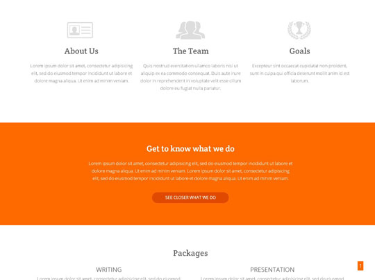 Download Free Keyners HTML5 Website Template