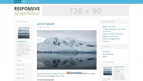 40 free fluid width responsive blogger html templates xdesigns