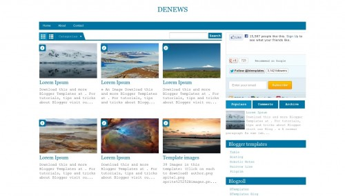 template for blogger html code - 40 free fluid width responsive blogger html templates