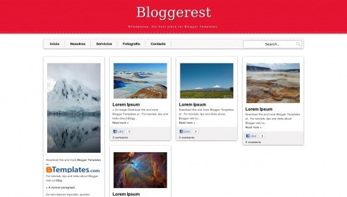 Free Bloggerest Responsive Blogger Template