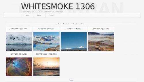 Free Whitesmoke 1306 Responsive Blogger Template