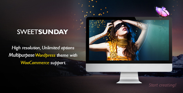 Sweet Sunday Agency Responsive Portfolio Theme