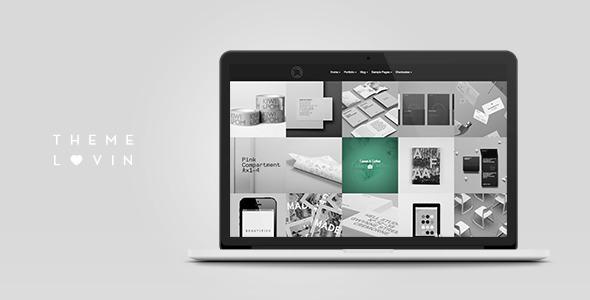 Kult: Agency Bold Responsive Portfolio WP Theme